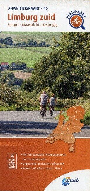 Limburg zuid (Sittard/Maastricht/Kerkrade) 1:66 000 -