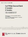 6 Sonaten für Flöte und Klavier. 6 Sonatas for Flute and Piano - Carl Philipp Emanuel Bach