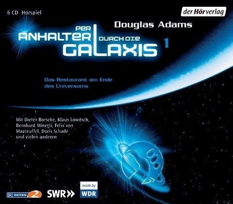 Per Anhalter durch die Galaxis 1. 6 CDs - Douglas Adams, Frank Duval