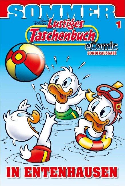 Lustiges Taschenbuch Sommer eComic Sonderausgabe 01 - Walt Disney