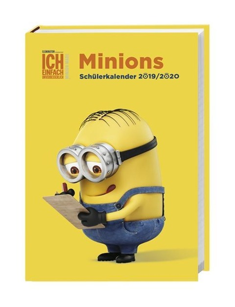 Minions 17-Monatskalenderbuch 2020 -