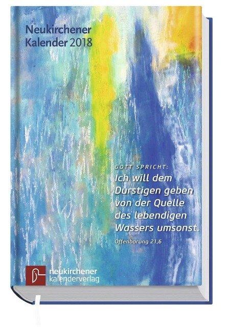 Neukirchener Kalender 2018 - Buchausgabe in großer Schrift -