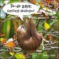 To-do 2019: Gepflegt abhängen! - Lustige Faultiere als Broschürenkalender - Trends & Classics -
