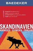 Baedeker Reiseführer Skandinavien, Norwegen, Schweden, Finnland - Christian Nowak, Rasso Knoller
