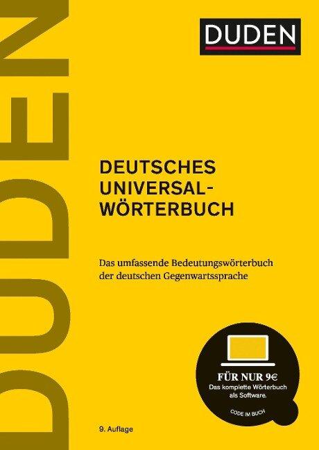 Duden - Deutsches Universalwörterbuch -