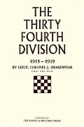 Thirty-Fourth Division - Lt. Col J. Shakespear