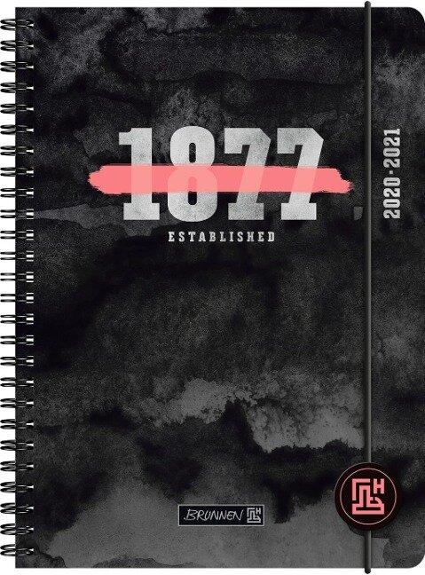 BRUNNEN 1072150011 Wochenkalender/Schülerkalender 2020/2021 Neon -