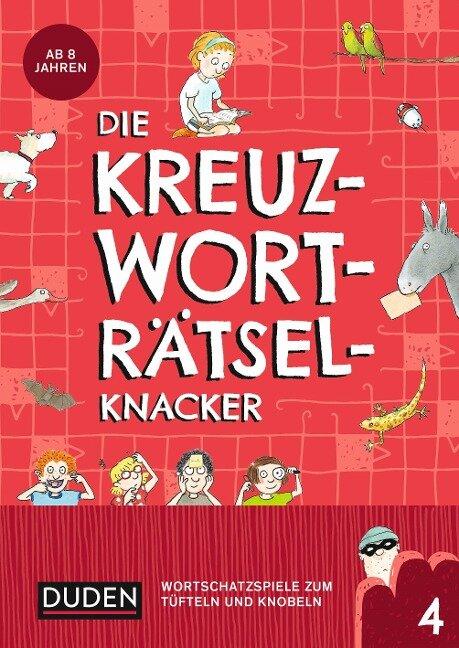Die Kreuzworträtselknacker - ab 8 Jahren (Band 4) - Janine Eck, Kristina Offermann