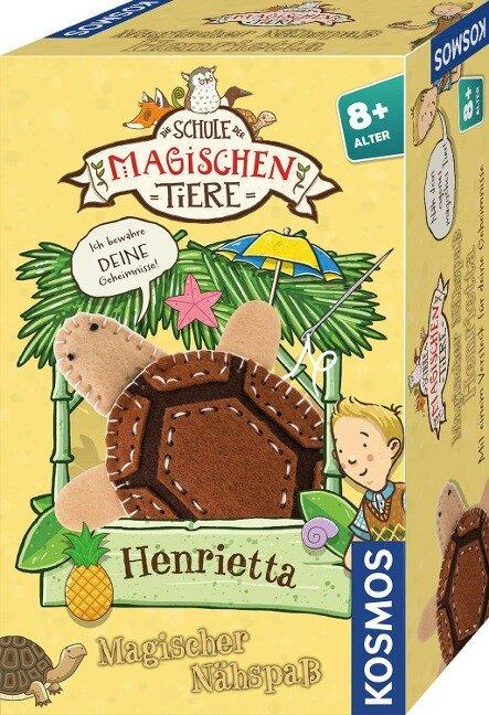 Die Schule der magischen Tiere - Magischer Nähspaß: Henrietta -