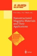 Nanostructured Magnetic Materials and Their Applications -