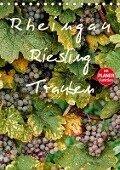 Rheingau - Riesling Trauben (Tischkalender 2019 DIN A5 hoch) - Dieter Meyer