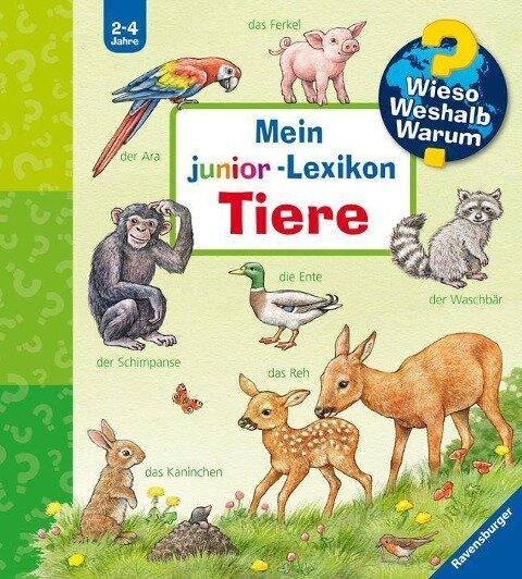 Mein junior-Lexikon: Tiere -