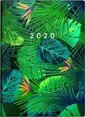 rido Taschenkalender 2019 Technik III Grafik, Tropical -
