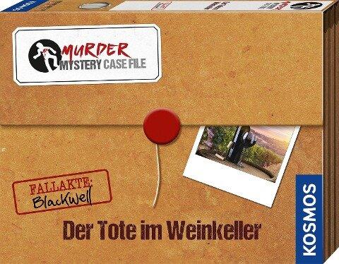 Murder Mystery Case File Der Tote im Weinkeller -