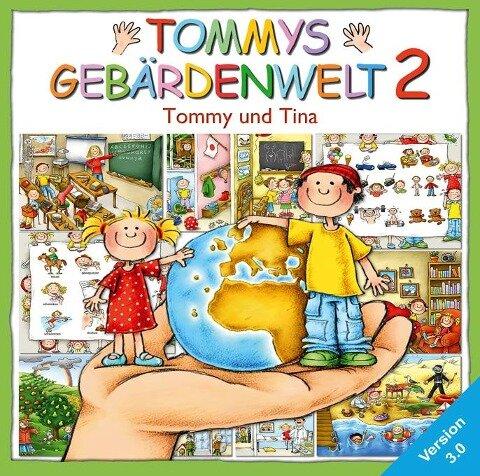 Tommys Gebärdenwelt 2, Version 3.0. CD-ROM für Windows 95/97/2000/XP -