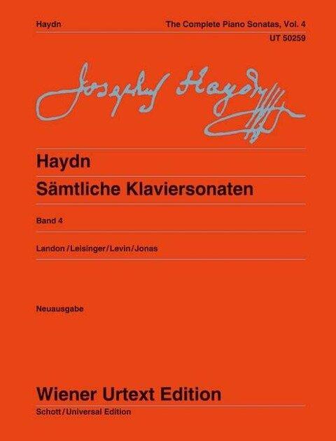 Sämtliche Klaviersonaten 4 - Joseph Haydn
