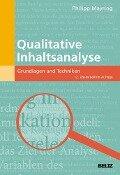 Qualitative Inhaltsanalyse - Philipp Mayring