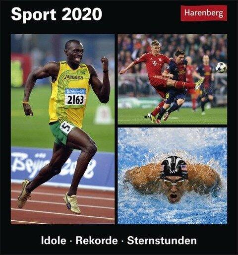 Sport Kalender 2020 - Benedikt Brinsa, Cedrik Kaiser, Marco Schyns, Robin Tillenburg