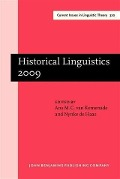 Historical Linguistics 2009 -