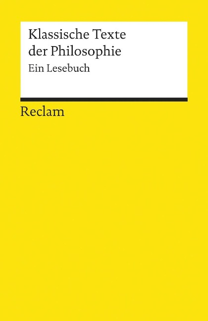 Klassische Texte der Philosophie -