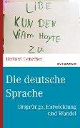 Die deutsche Sprache - Herbert Genzmer