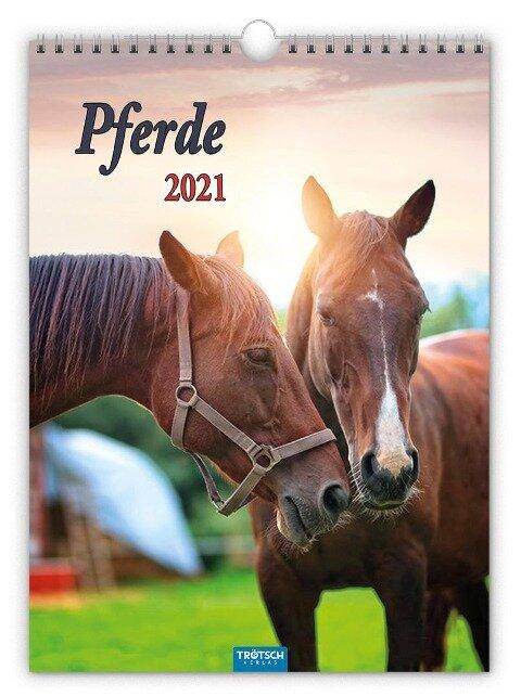 """Classickalender """"Pferde"""" 2021 -"""