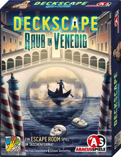 Deckscape - Raub in Venedig - Martino Chiacchiera, Silvano Sorrentino