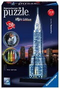 Chrysler Building bei Nacht.Night Edition 3-D Puzzle 216 Teile -