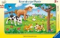 Knuffige Tierfreunde. Rahmenpuzzle 15 Teile -