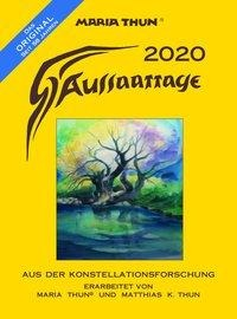 Aussaattage Maria Thun 2020 - Maria Thun, Matthias K Thun