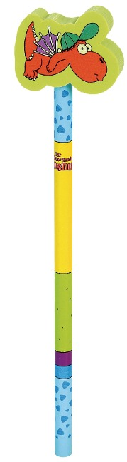 Der kleine Drache Kokosnuss Bleistift mit Radiergummi -