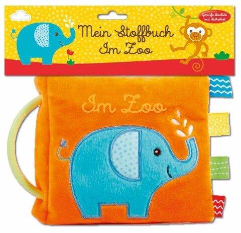 Mein Stoffbuch - Im Zoo -