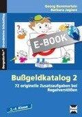 Bußgeldkatalog 2 - Barbara Jaglarz, Georg Bemmerlein
