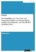 Denkmalpflege und neue Kunst. Das Südquerhausfenster von Gerhard Richter und das Deckengemälde von Peter Hecker im Kölner Dom -
