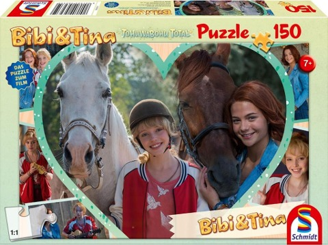 Bibi & Tina. Bibi. Mädchenfreundschaft. Puzzle zum Film 4. 150 Teile -
