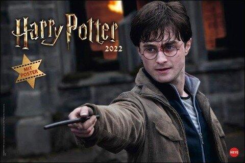 Harry Potter Broschur XL - Kalender 2022 -