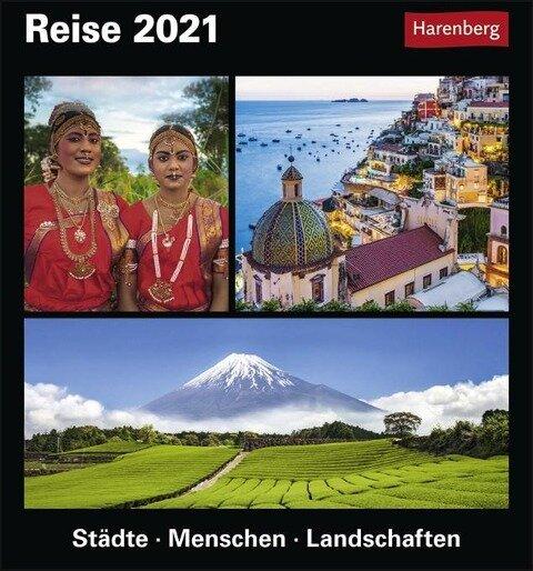 Reise. Kalender 2020 - Bernhard Pollmann, Martina Schnober-Sen