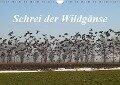 Schrei der Wildgänse (Wandkalender 2017 DIN A4 quer) - Rolf Pötsch