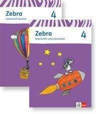 Zebra. Paket (Arbeitsheft Sprache und Arbeitsheft Lesen und Schreiben) 4. Schuljahr. Neubearbeitung -