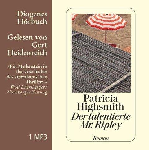Der talentierte Mr. Ripley (MP3-CD) - Patricia Highsmith