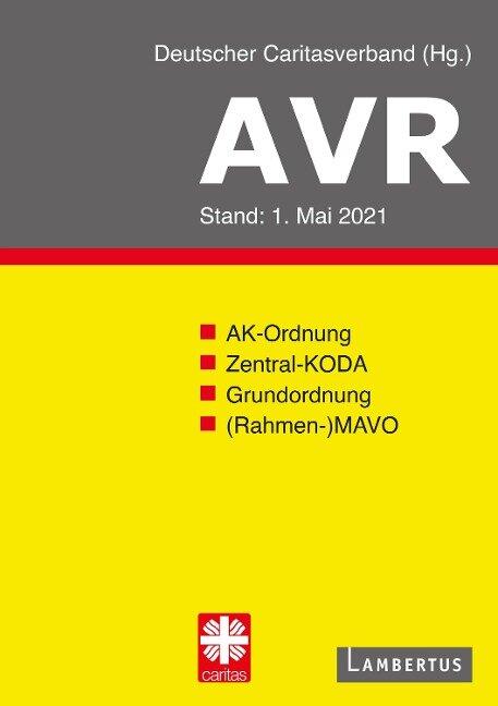 AVR Buchausgabe 2021 -
