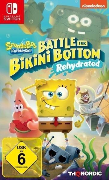 Spongebob SquarePants: Battle for Bikini Bottom - Rehydrated (Nintendo Switch) -
