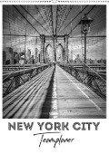 NEW YORK CITY Teamplaner (Wandkalender 2018 DIN A2 hoch) Dieser erfolgreiche Kalender wurde dieses Jahr mit gleichen Bildern und aktualisiertem Kalendarium wiederveröffentlicht. - Melanie Viola