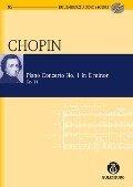 Konzert für Klavier und Orchester Nr. 1 e-Moll - Frédéric Chopin