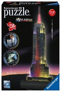 Empire State Building bei Nacht. 3D Puzzle 216 Teile -