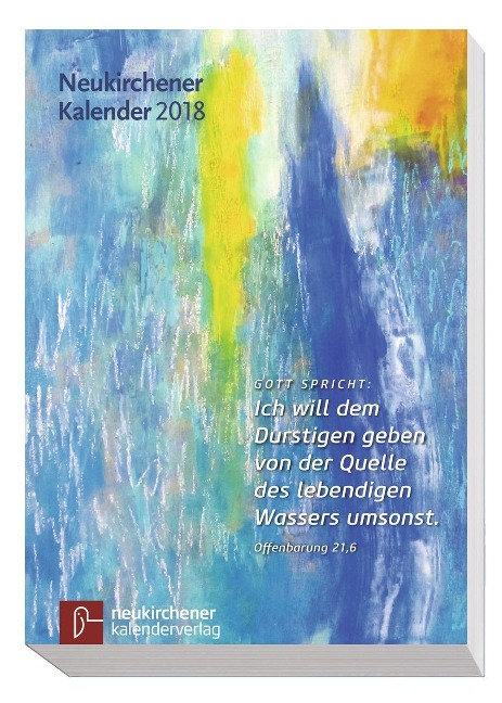 Neukirchener Kalender 2018 - Buchausgabe kartoniert -