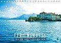 Feriengrüße von den Oberitalienischen Seen (Tischkalender 2017 DIN A5 quer) - CALVENDO