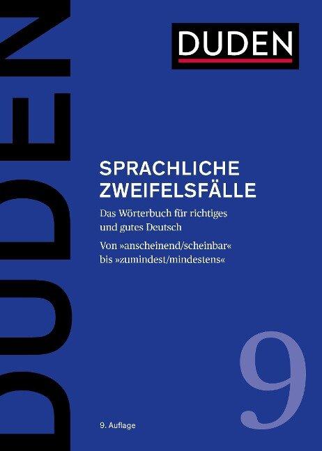 Sprachliche Zweifelsfälle - Mathilde Hennig, Jan Georg Schneider, Ralf Osterwinter, Anja Steinhauer
