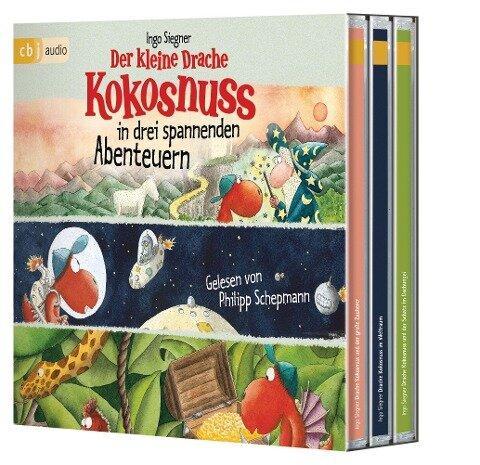 Der kleine Drache Kokosnuss in drei spannenden Abenteuern - Ingo Siegner
