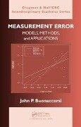 Measurement Error - John P. Buonaccorsi